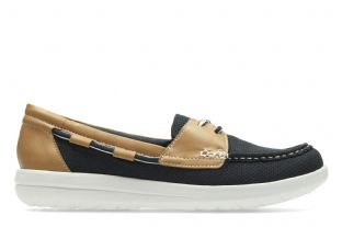 Clarks Womens Jocolin Vista Navy Shoes